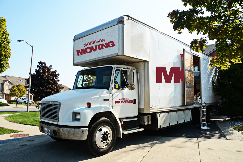 Morrison Moving Straight Truck