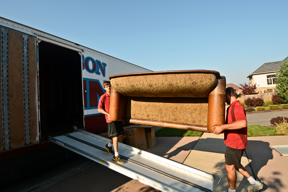 Morrison Moving Straight Truck